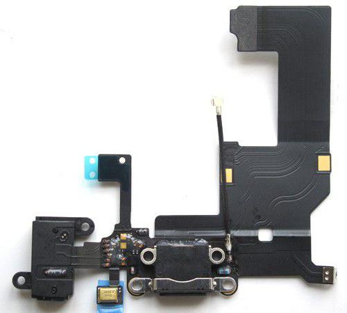 Замена нижнего шлейфа iPhone 5S