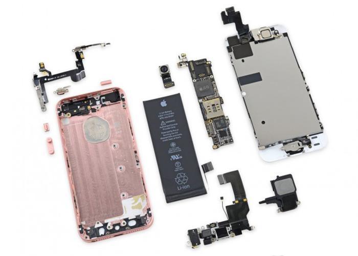 Разобран первый iPhone 5SE, что внутри?