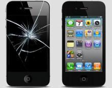 ремонт дисплея iphone 4