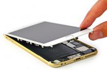 iPhone 6 Plus, замена динамика