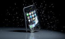 замена стекла в iphone 4s
