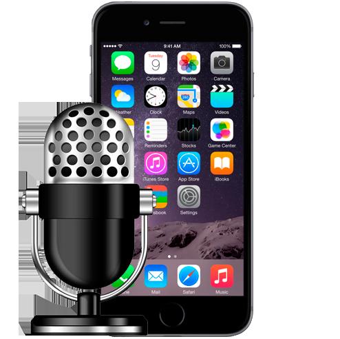 замена микрофона на айфон 6 плюс