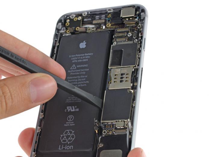 Замена контроллера питания iPhone