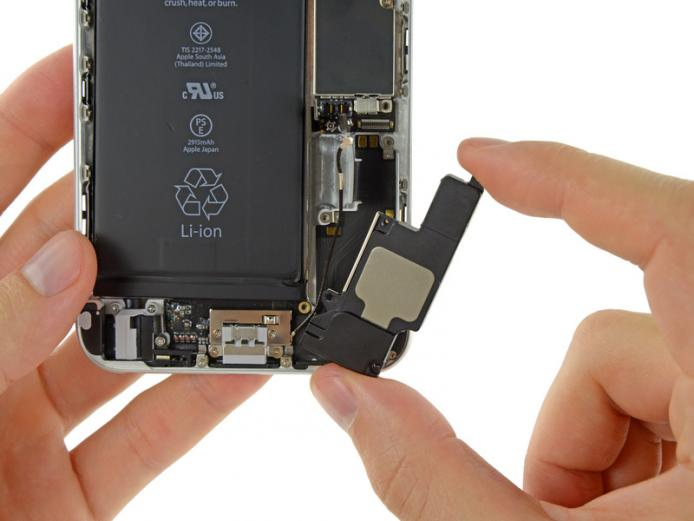 Замена полифонического динамика iPhone 6s