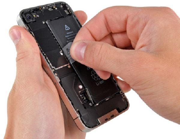 замена аккумулятора в iphone 5
