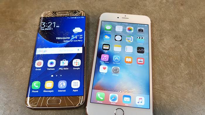 iphone 6s galaxy