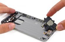 замена динамика, iPhone 6